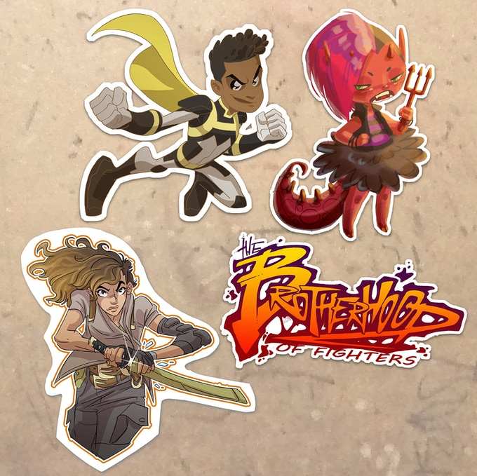 Sticker Set (physical sample set posted soon)