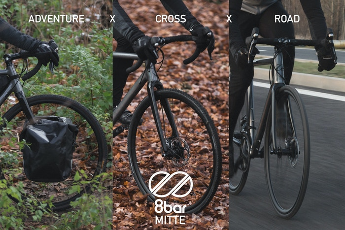 How would it be to have a bike that's able to change its' geometry completely & transform from a road to a cross or an adventure bike?