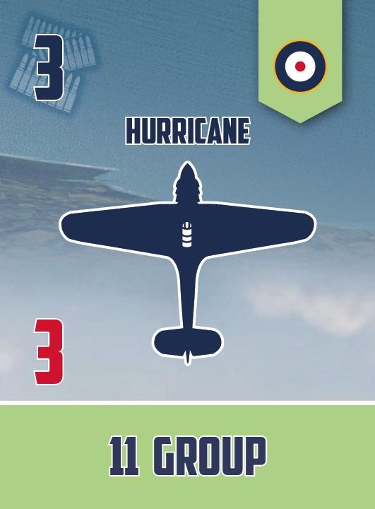Hurricane squadron card