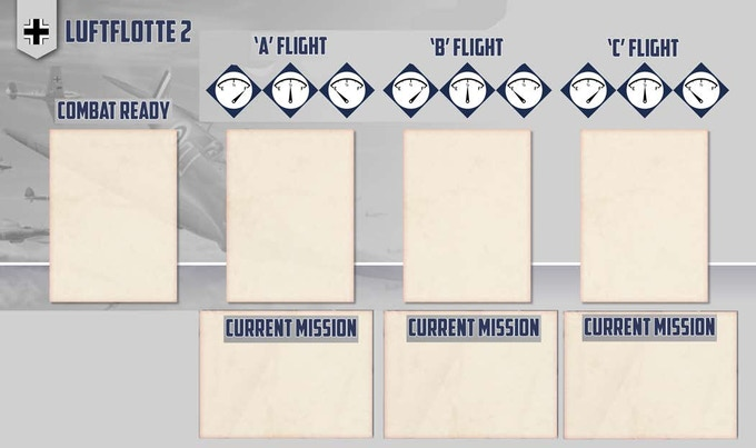 Luftwaffe flight card