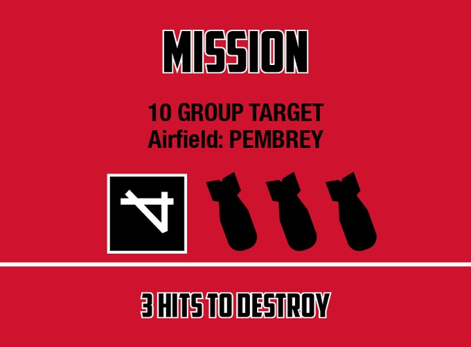 Bombing Mission card