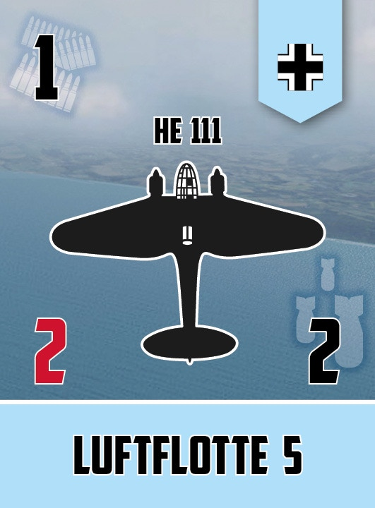 He 111 squadron card