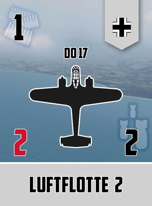 Dornier 17 squadron card