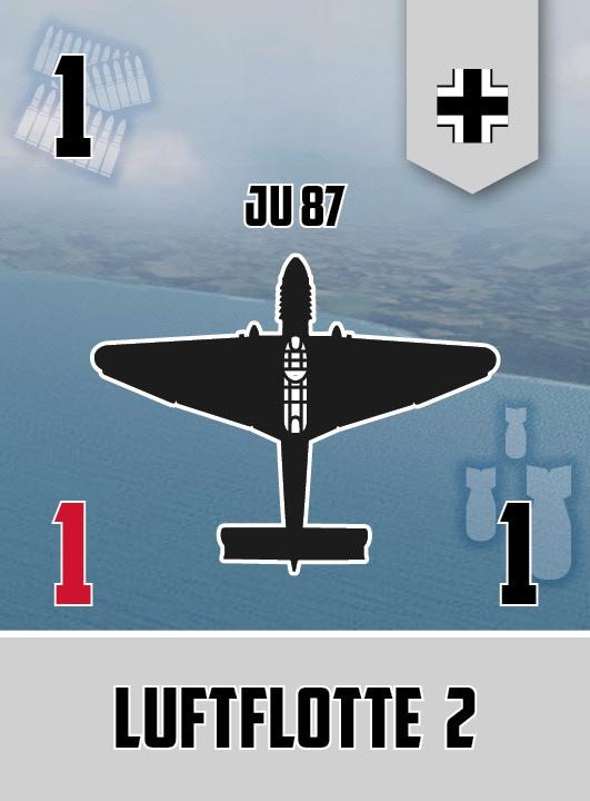 Stuka squadron card