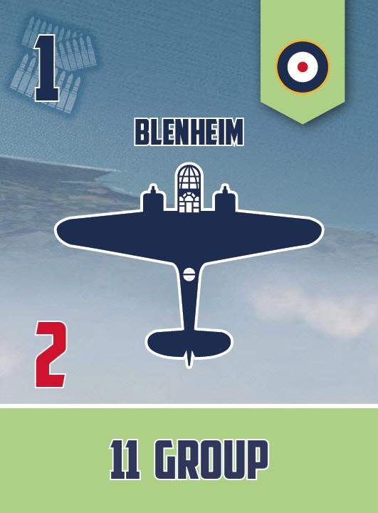 Blenheim squadron card