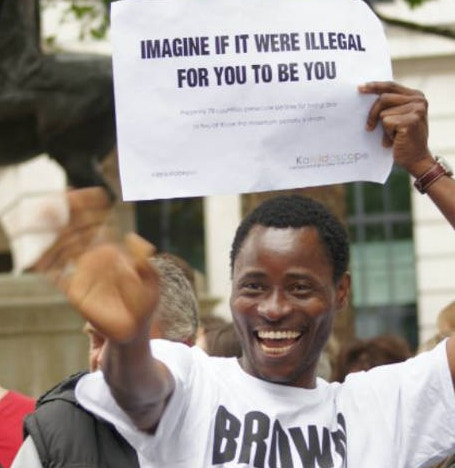 Bisi Alimi out campaigning