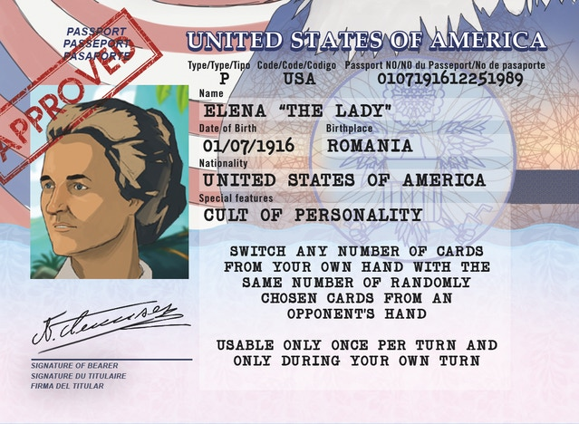 Revenge of the dictators lose your friends rule the world by we didnt find them appropriate instead we chose the lady this gives us the opportunity to show you the new improved passport card design as well ccuart Images