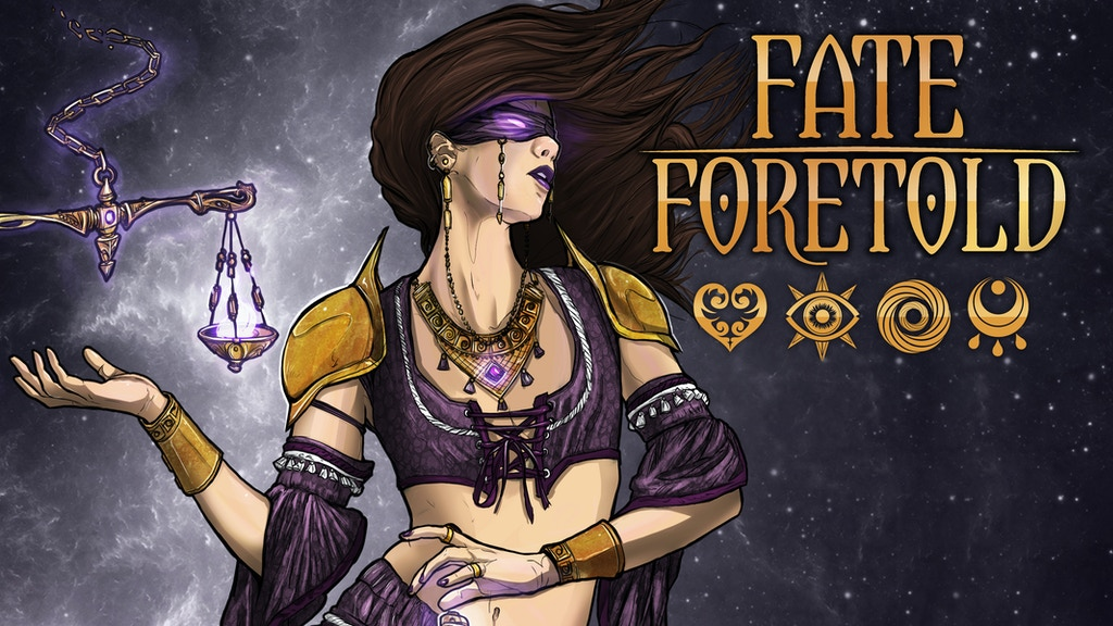 Fate Foretold: the Tarot Card Game project video thumbnail