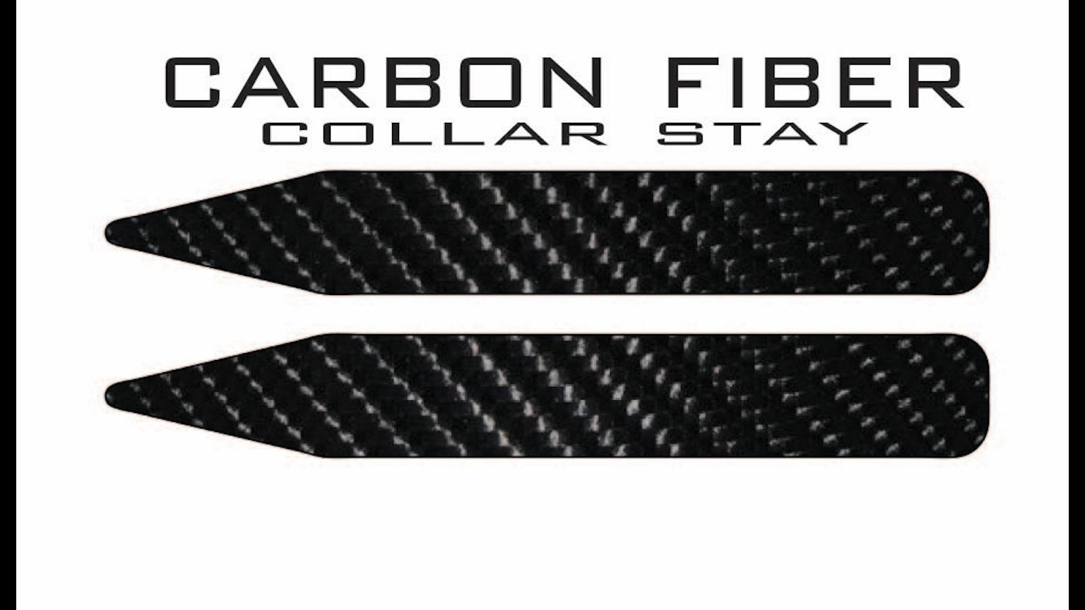 carbon fiber collar stays by colton kickstarter. Black Bedroom Furniture Sets. Home Design Ideas