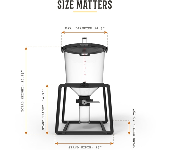 The catalyst beer fermentation made easy by craft a brew for Craft a brew catalyst
