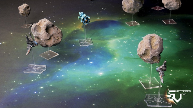 Shattered Void - The Sci-Fi Dogfighting Tabletop Wargame by White