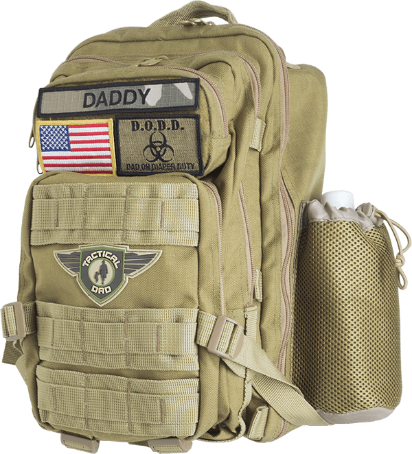 The most tactical baby carrier and diaper pack system by for Daddy carrier