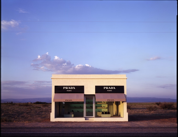 Ballroom Commission, Prada Marfa - Photo by James Evans