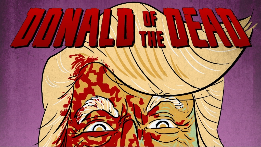 Donald Of The Dead - Comic Book project video thumbnail