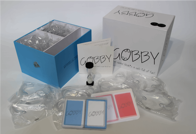 Gobby Game Rude and Crude Adults version with additional phrase cards