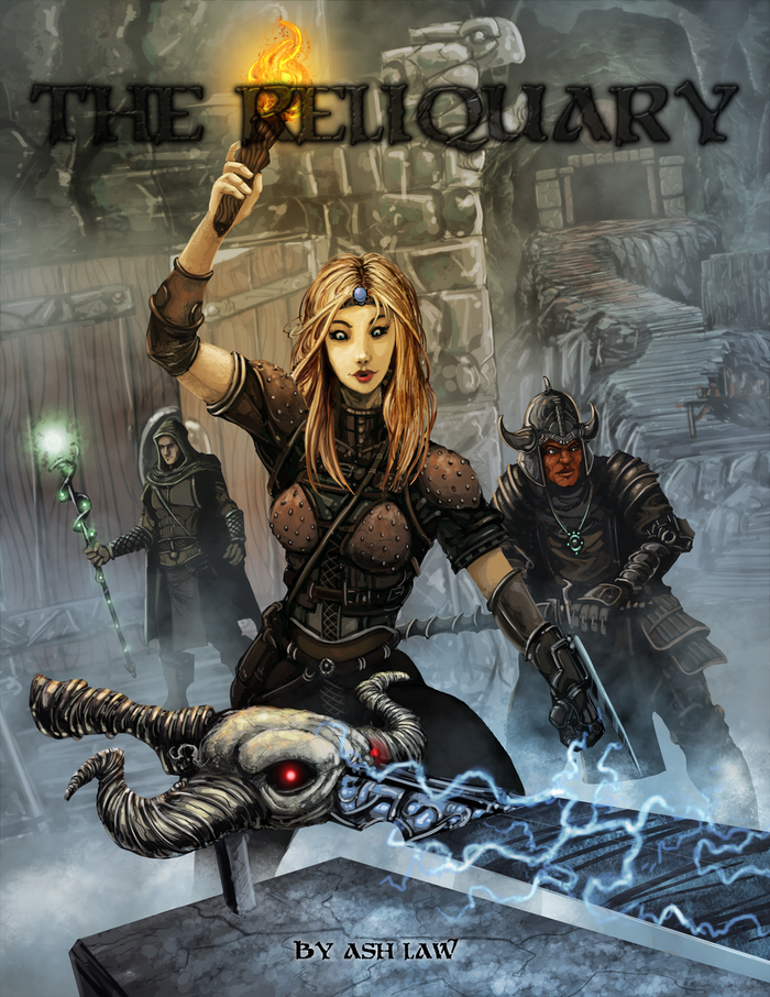 Sixty brand new items compatible with 13th AGE, Savage Worlds and Pathfinder.