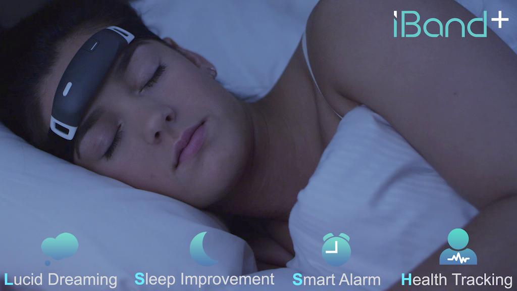 iBand+: EEG headband that helps you Sleep and Dream! project video thumbnail