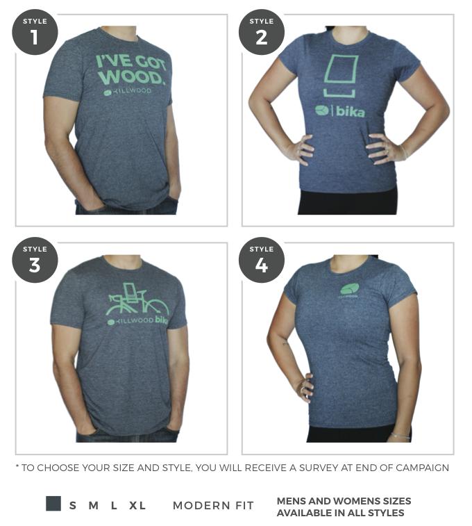 Beetle Grey Killwood Graphic T-Shirts