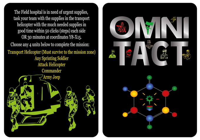 OMNI TACT - Mission 1 of 13. (Level: Rock) timed & survival!