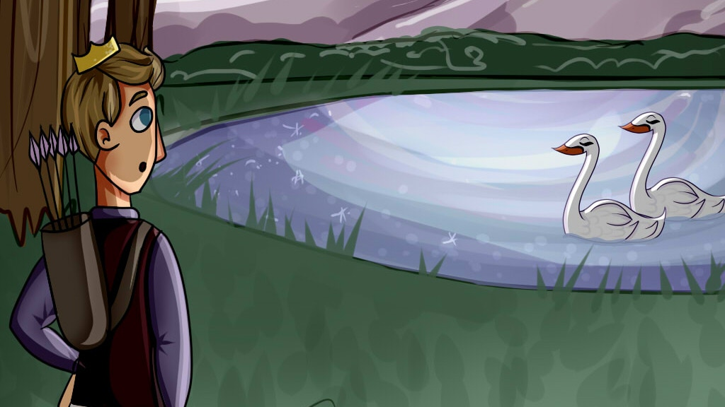 Katidoodlesmuch: Swan Lake Illustrated / Children's Book project video thumbnail