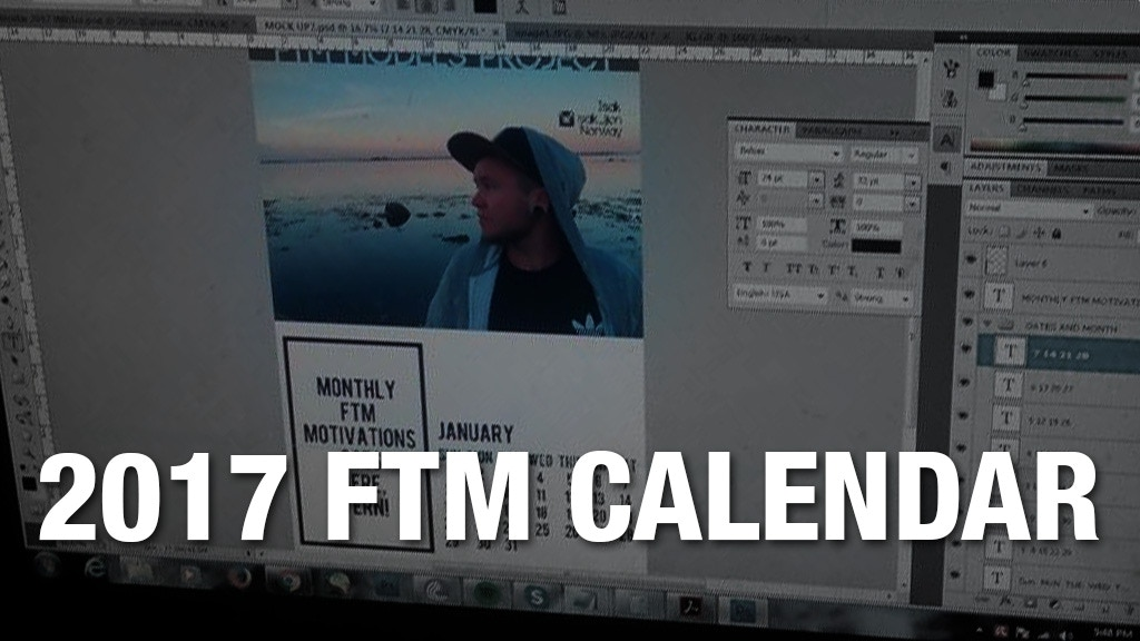 Project image for 2017 FTM Calendar