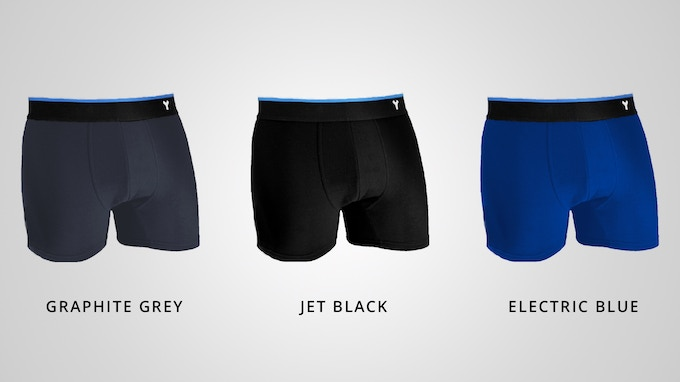 Graphite Grey & Electric Blue are renderings