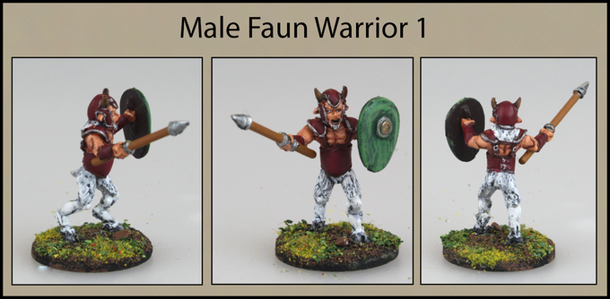 Male Faun Warrior 1