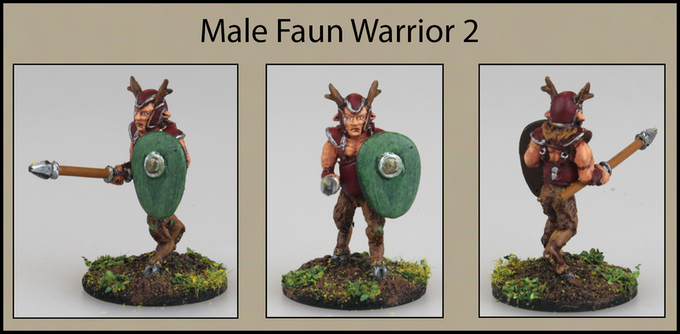Male Faun Warrior 2