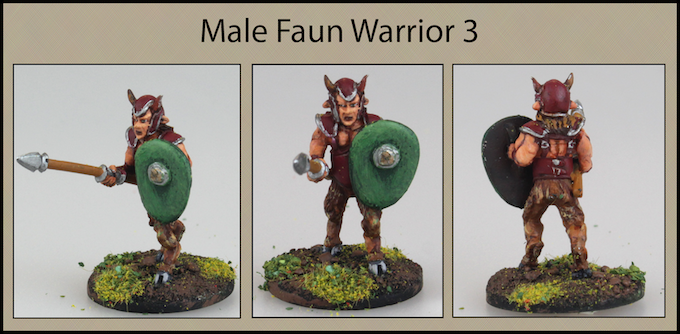 Male Faun Warrior 3