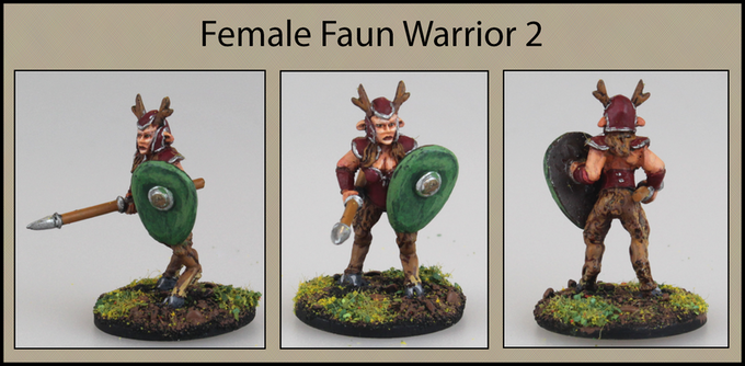 Female Faun Warrior 2