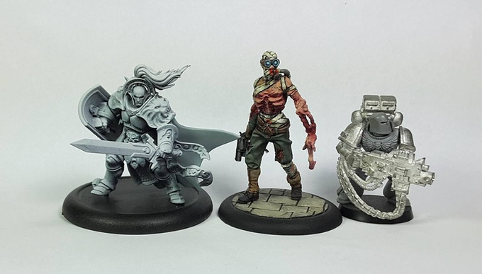 Scale comparison with other range