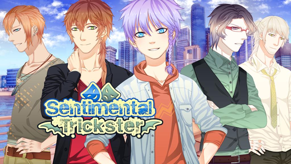 Sentimental Trickster: English BL Yaoi Visual Novel by Yaoi a GoGo