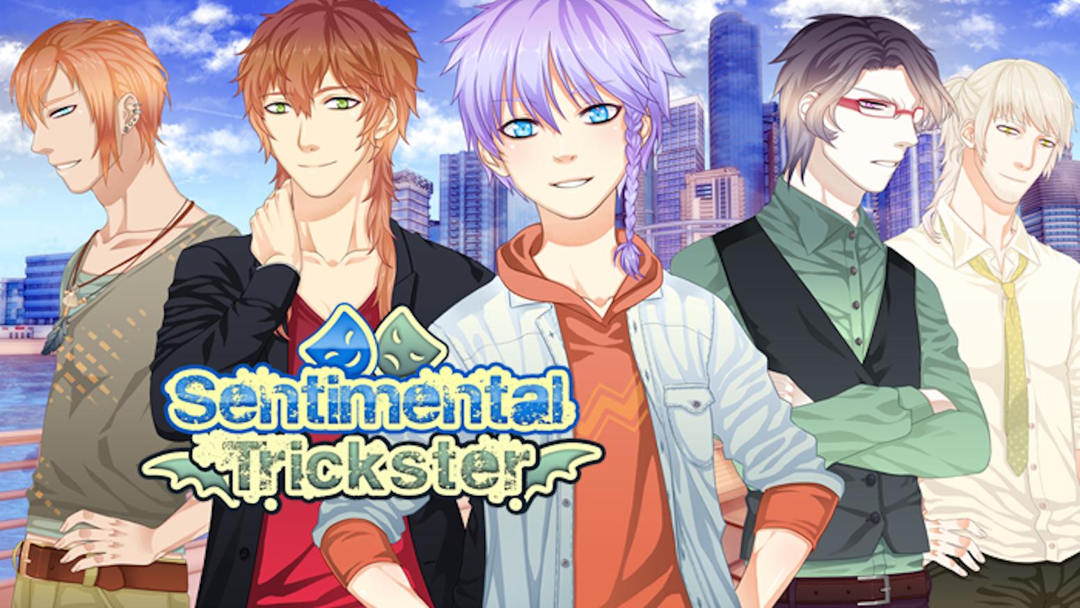 Sentimental Trickster: English BL Yaoi Visual Novel by Yaoi