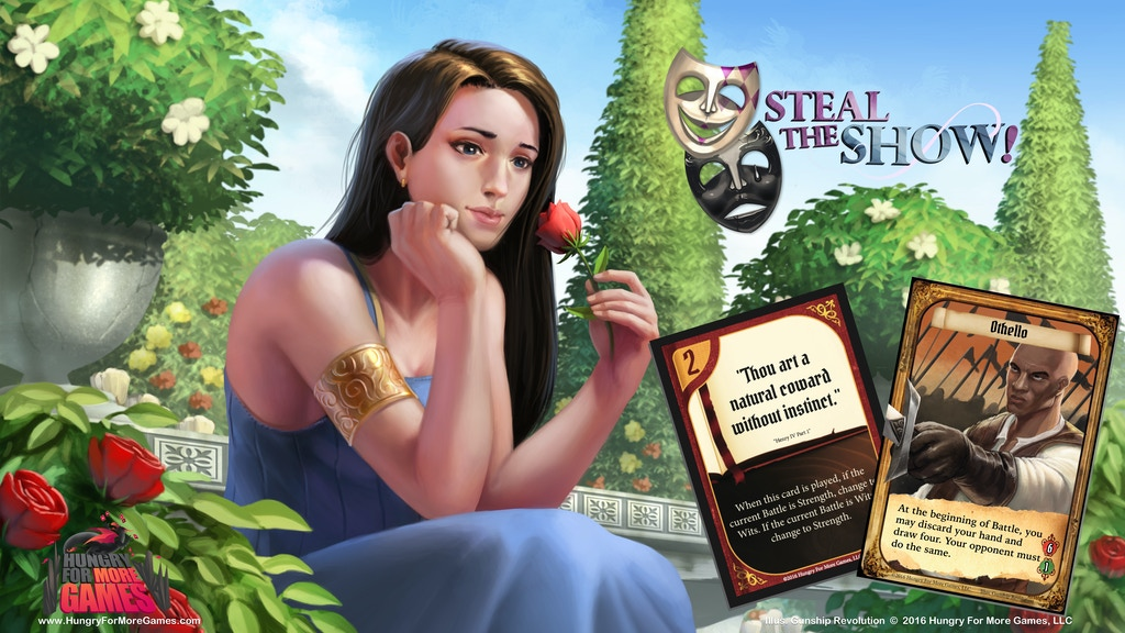 Steal The Show! - A Theatrical Party Card Game project video thumbnail
