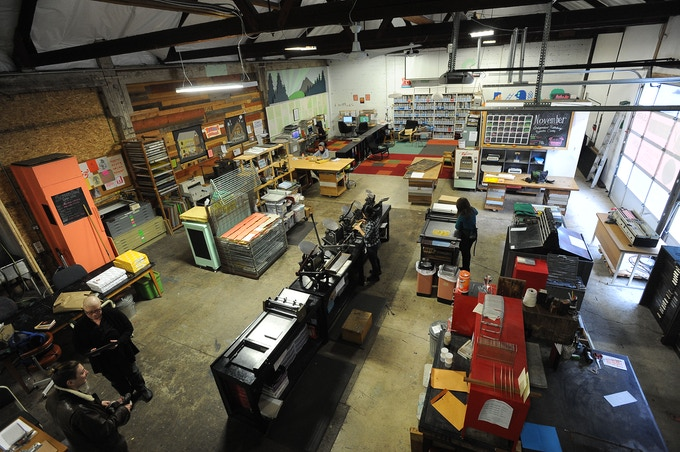 Our Current Maker Space