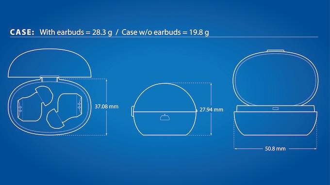 Charging Case Specs