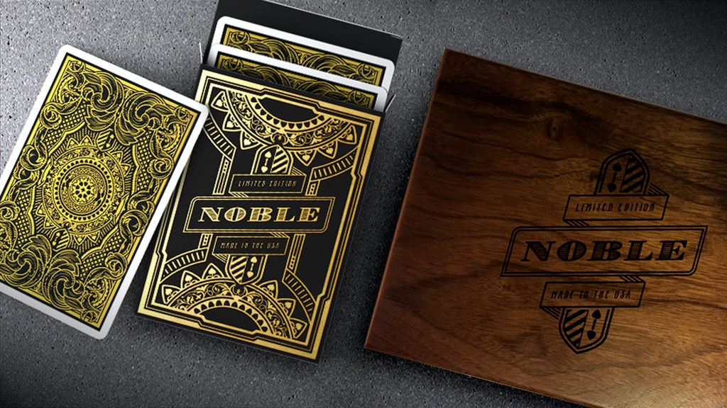 Noble Deck - Premium Playing Cards project video thumbnail