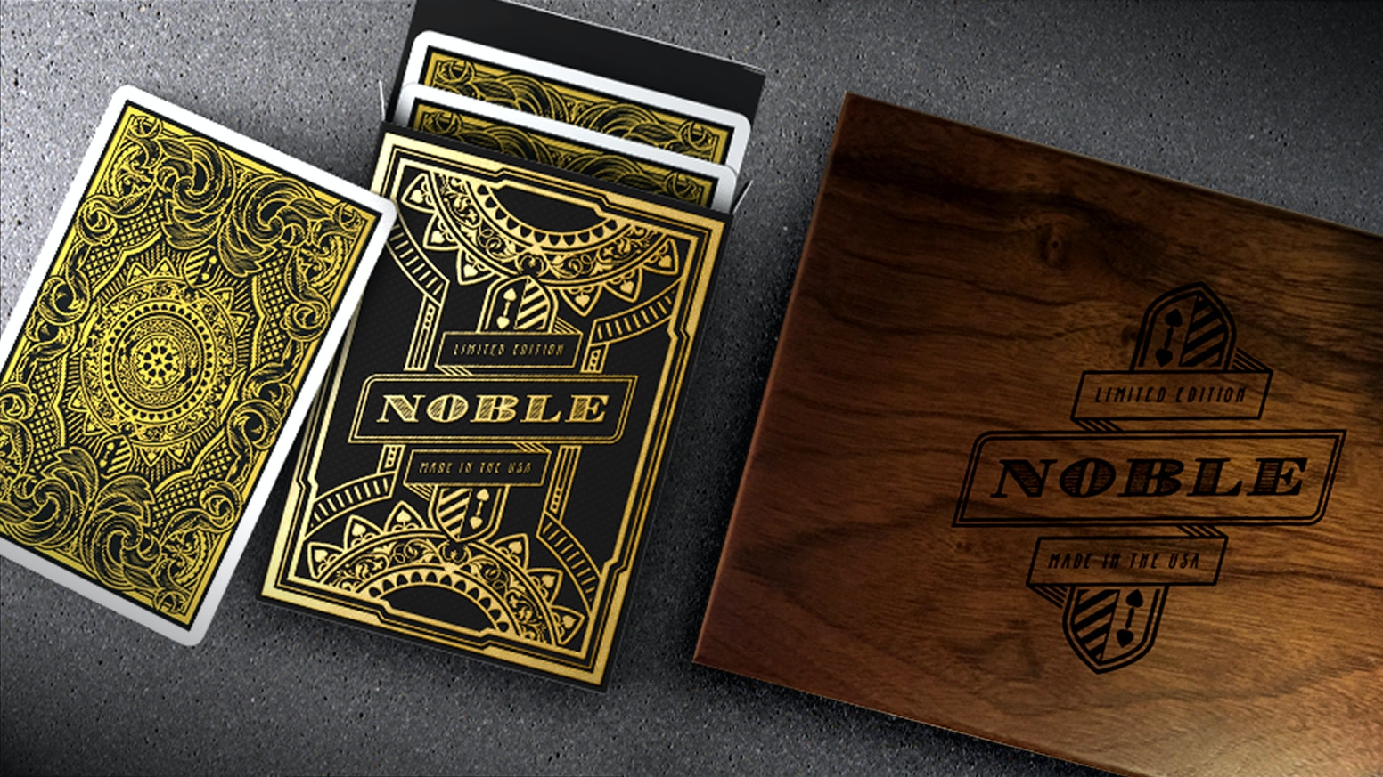 Series of Limited Edition Playing Cards, Inspired by the Noble. Printed by the USPCC.