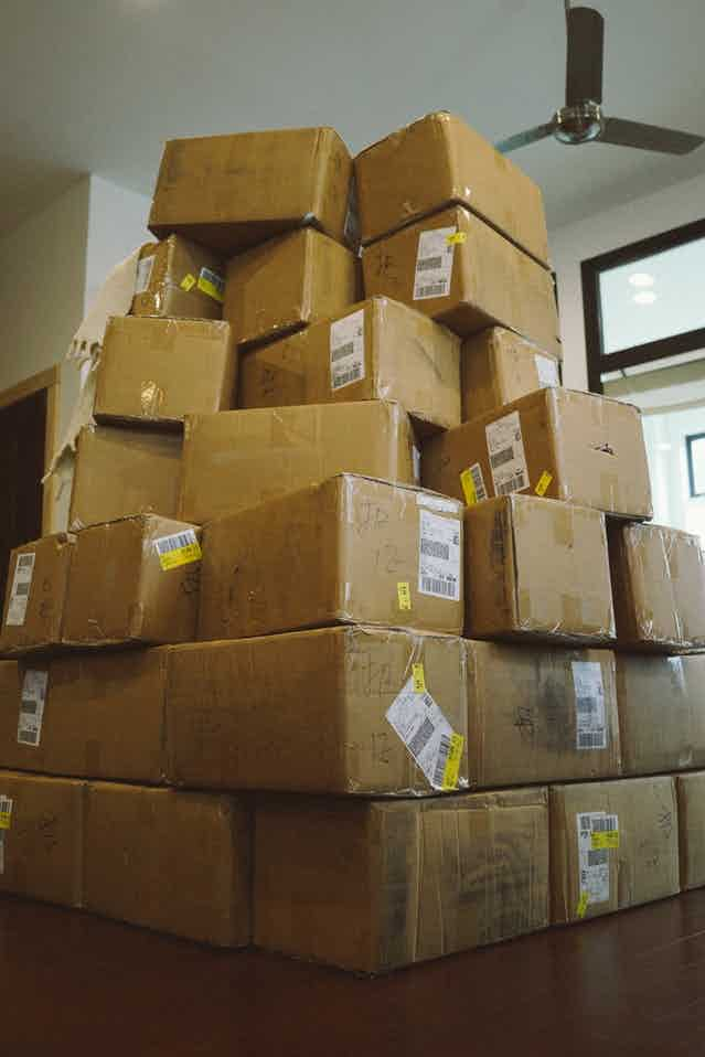The Werewolf team prepares to send a large bulk shipment to Chicago for distribution