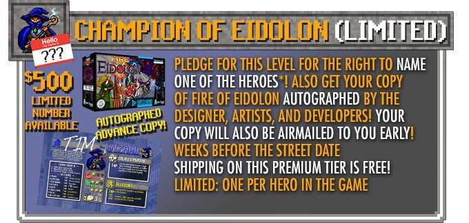 Fire of Eidolon - 16-Bit Inspired Co-Op Dungeon Board Game