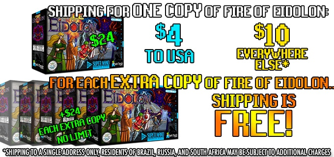 Order any amount of copies of FoE and only pay shipping on ONE!