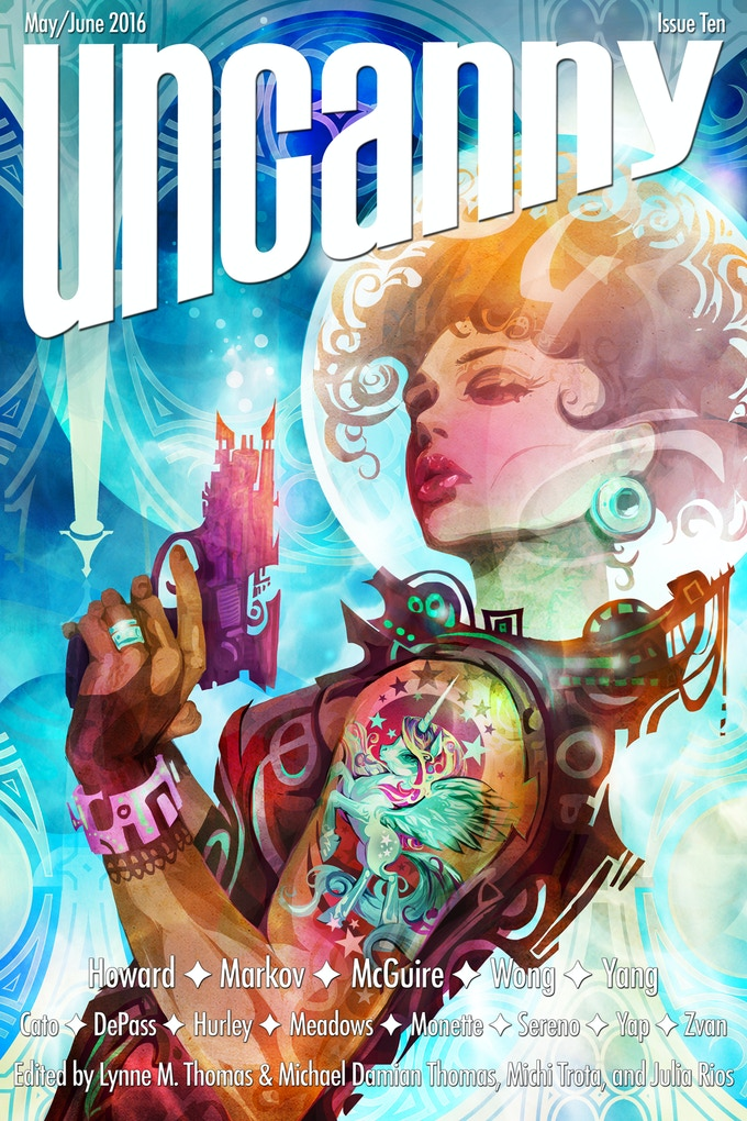 Bubbles & Blast Off by Galen Dara (Issue 10 cover)