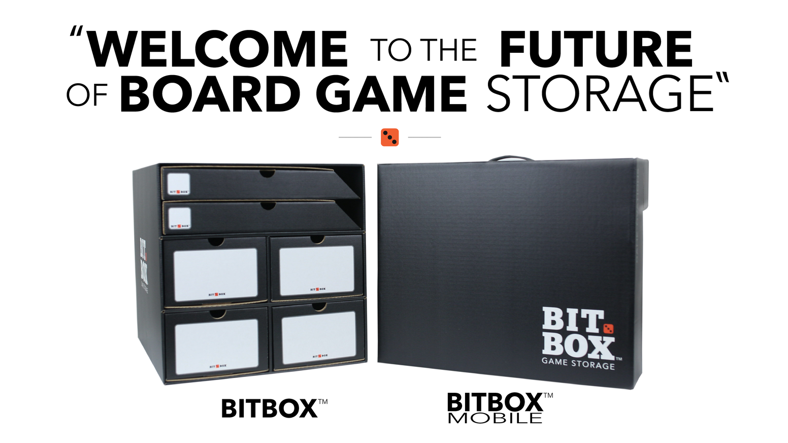 Bitbox space saving easy traveling board game storage for Board game storage solutions