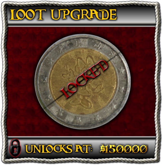 Upgrade half of the coins to Bi-Metal doubloons (factory sample shown)