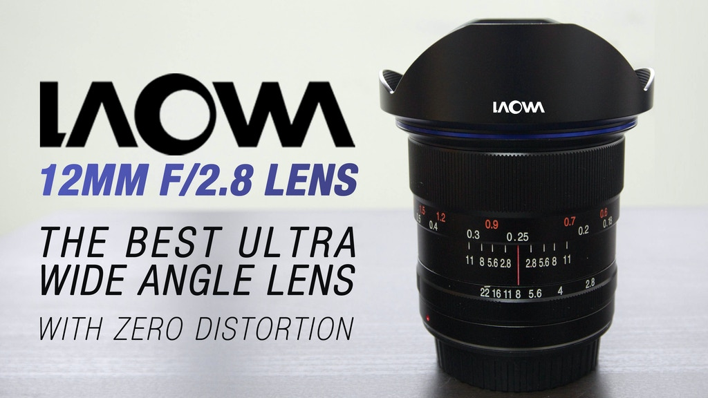 Ultra Wide Angle Lens with Zero Distortion, Laowa 12mm f/2.8 project video thumbnail