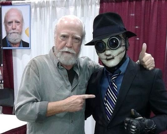 """Scott Wilson bought a SENTINEL comic. He's an inspiration to me as an actor in his role on """"The Walking Dead"""""""