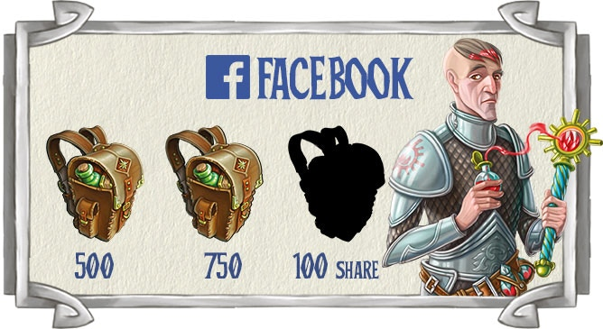 Click on the image to become a Dungeon Time fan on Facebook