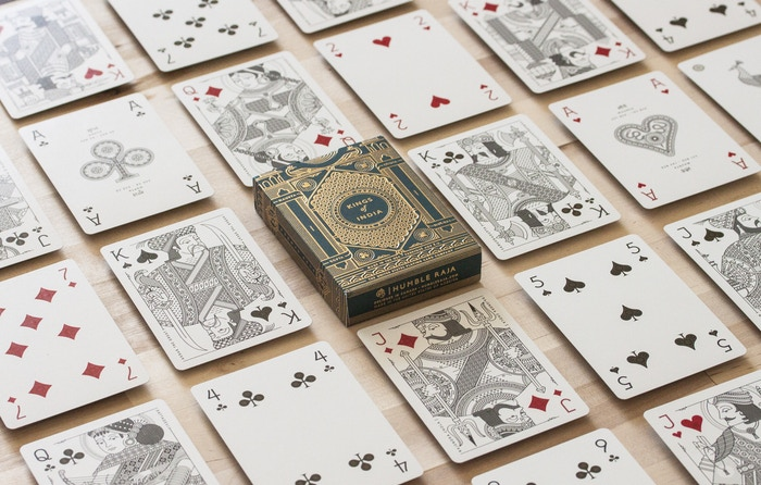 Custom-illustrated playing cards inspired by India's four greatest dynasties to share the marvels and monarchs of India's story.