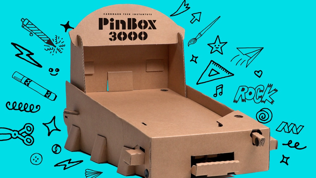 PinBox 3000 and Gamechanger project video thumbnail