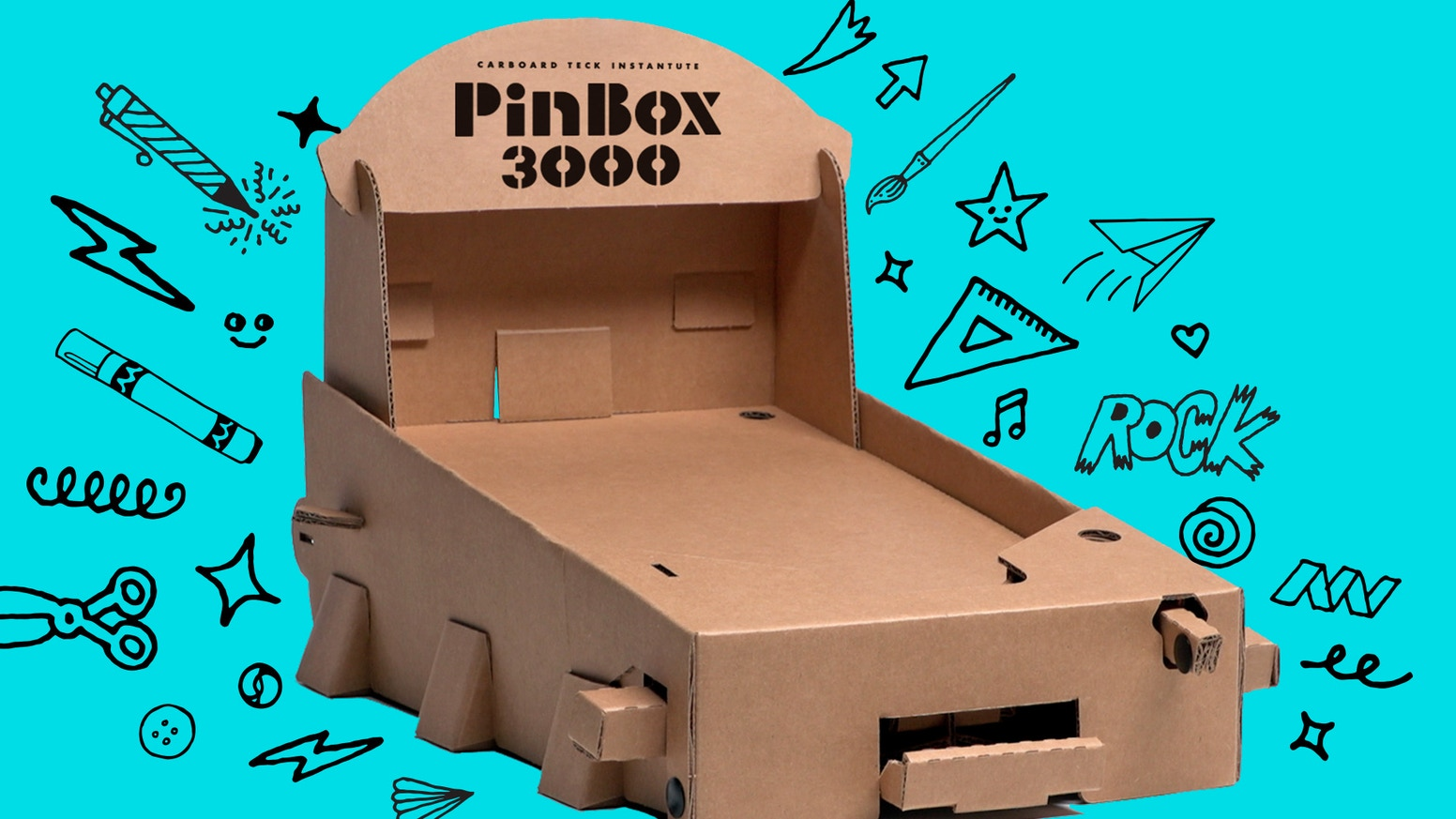 Customizable cardboard tabletop pinball game system and Gamechanger playboard expansions. Tilt the Future!